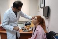 Гайк Бабаян консультирует пациентку