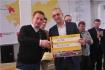Исполнительный директор кластера ядерных технологий Фонда «Сколково» Игорь Караваев (слева) и руководитель стартапа «Скальтек» Игорь Белашов
