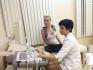 Евгения Феофилактова на приеме у онколога