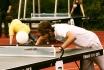 Хэдис — смесь настольного тенниса и футбола