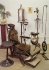 Старинные стоматологические инструменты и кресло