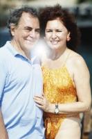 Пластический хирург Иво Питанги с супругой
