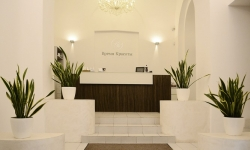 Ресепшн клиники эстетической медицины «Время красоты»