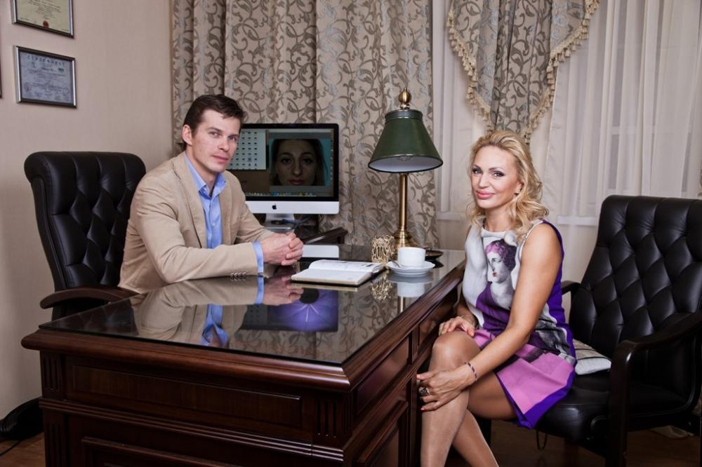 Алла Довлатова на консультации у Сергея Свиридова