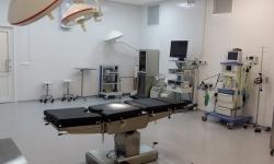 Операционная ссовременным медицинским оборудованием ианестезиологическим оснащением