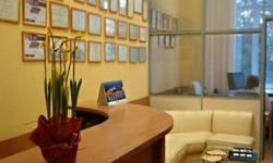 Ресепшн Центра пластической хирургии «Эстет Клиник»