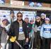 Участвуют в благотворительных лыжных забегах (Андрей Искорнев)