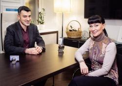 Нонна Гришаева на приеме у пластического хирурга Владислава Григорянца
