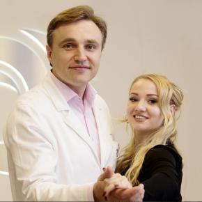 Александр Грудько с пациенткой
