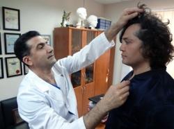 Гайк Бабаян и Рустам Солнцев на консультации по ринопластике