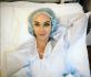 Анастасия Лисова за несколько минут до операции
