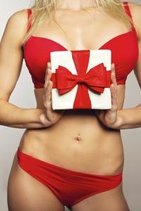Увеличение груди на Новый год