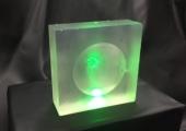 3Д-линза из смолы