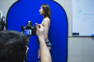 Снятие фото до увеличения груди у пластического хирурга Дмитрия Мельникова