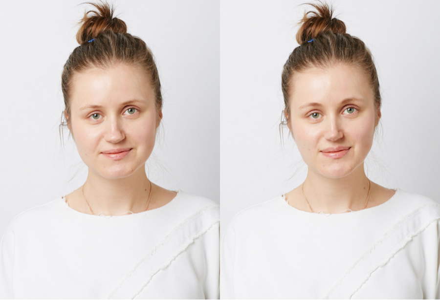 Анна Волкова, редактор моды ELLE. До и после эксперимента