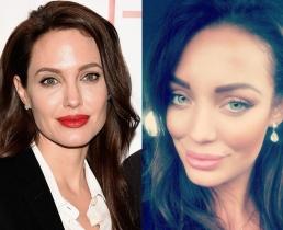 Двойники Анджелины Джоли