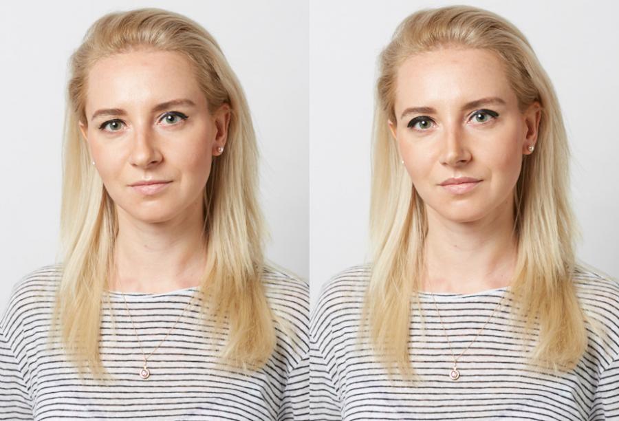Ирина Плаксина, маркетолог ELLE. Фото до и после эксперимента