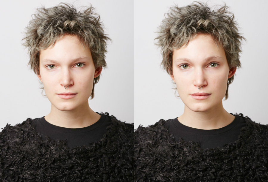 Мария Раева, редактор ELLE. Фото до и после эксперимента