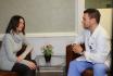 Пациентка Наталья и доктор Михаил Овчинников