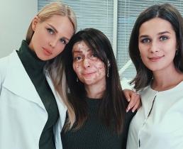 Мария Погребняк ищет пластического хирурга