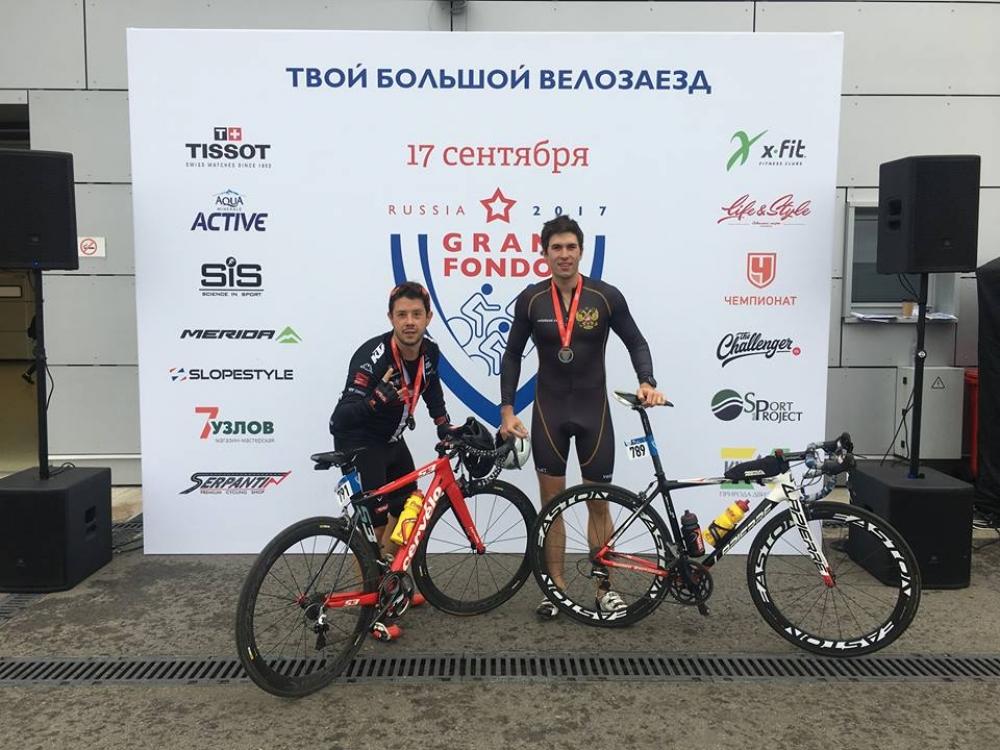 Дмитрий Мельников является большим поклонником велоспорта