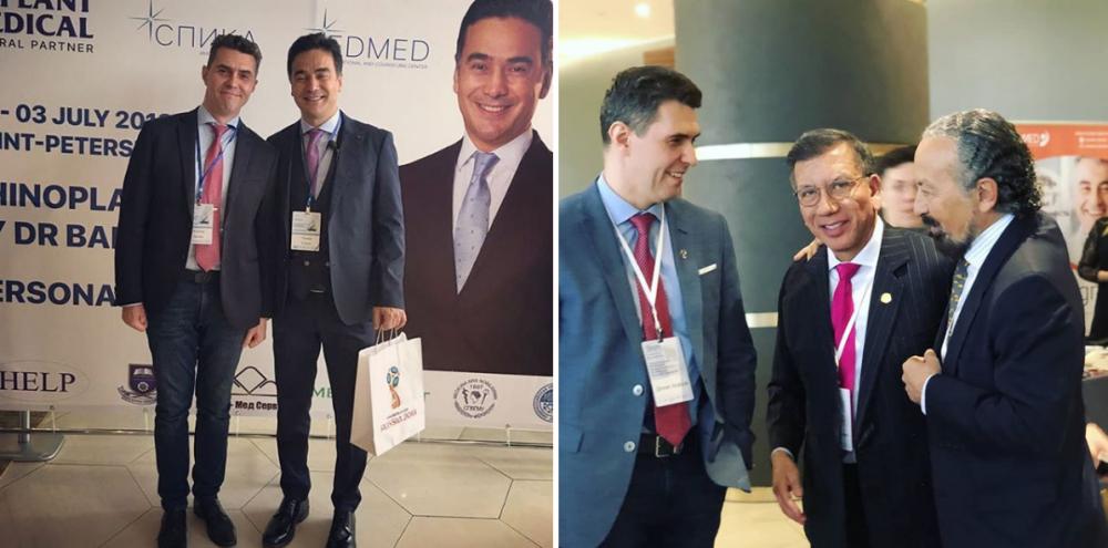 Денис Агапов совершенствует свои хирургические навыки на международных конгрессах