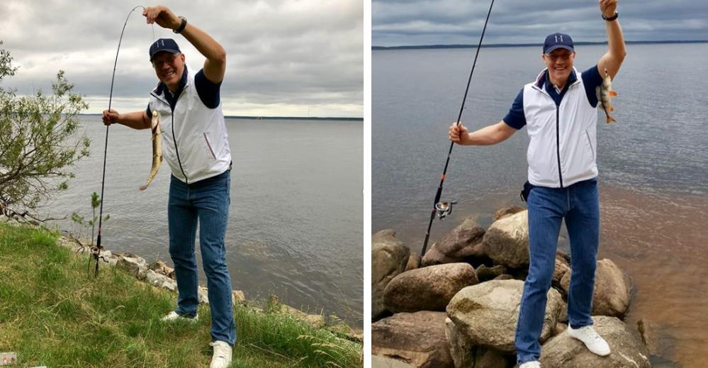 Кто же будет против рыбалки?