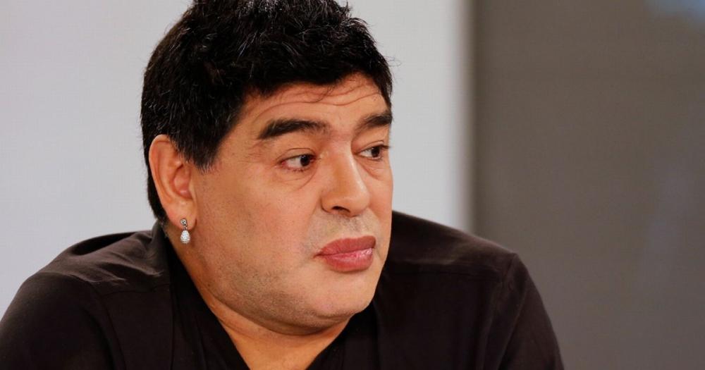 Диего Марадона после подтяжки лица