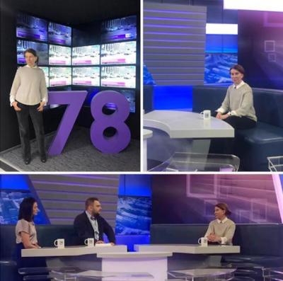 Пластический хирург Наталья Янковская на телевидении