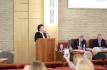 Ирина Мариничева на защите первой докторской диссертации по пластической хирургии
