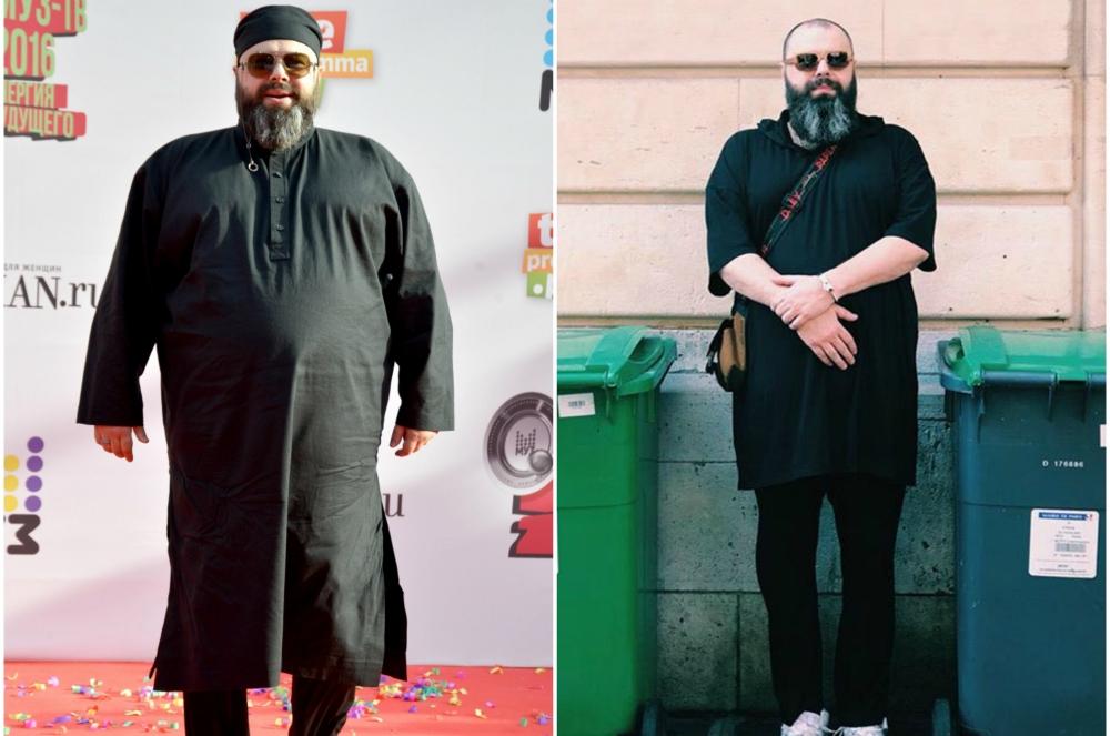 Максим Фадеев до и после похудения