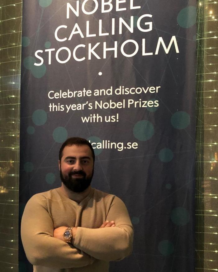 Гукас Миракян побывал на вручении Нобелевской премии.